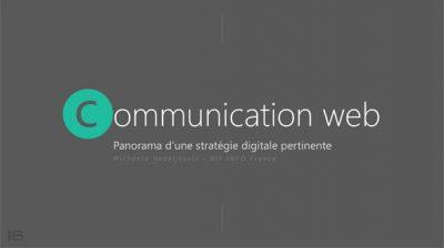 Panorama d'une stratégie digitale pertinente