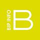 BIP INFO Sticky Logo